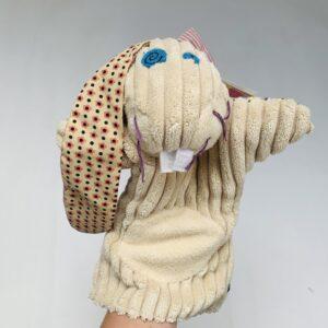 Handpop konijn Déglingos