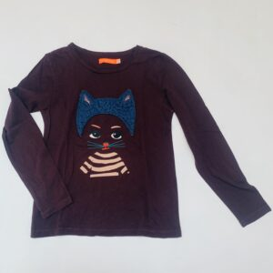Longsleeve cat bruin Fred and Ginger 128