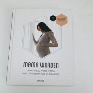 Boek mama worden Lannoo