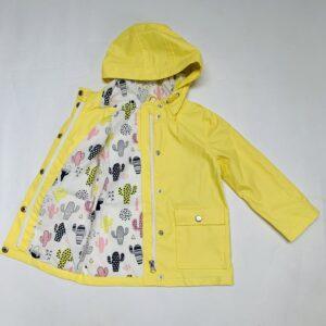 Waxed raincoat pastel geel Frizzle 92