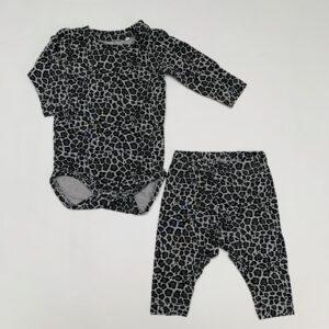 Setje romper + legging leopard Name it 1-2m / 50