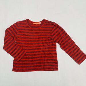 Longsleeve red stripes Fred & Ginger 104