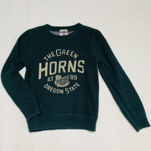 Sweater tricot the green horns America Today 134/140