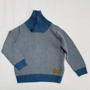 Sweater tricot blauw Esprit 2-3jr / 92/98