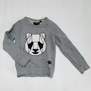 Sweater panda Grey Kids clothing 4-5jr