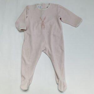 Pyjama met voetjes fleece rabbit Pett Bateau 18m / 81