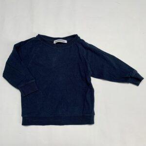 Longsleeve donkerblauw Mingo 6-12m