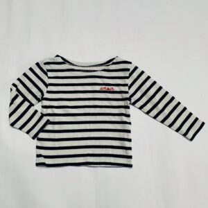 Longsleeve stripes amour Maison Labiche 2jr