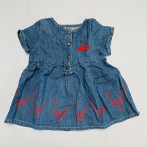 Denim kleedje shortsleeve Bobo Choses 3-6m / 68