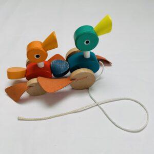 Trekspeelgoed duck Janod
