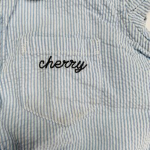 Blouse geknoopt cherry Filou & Friends 4jr