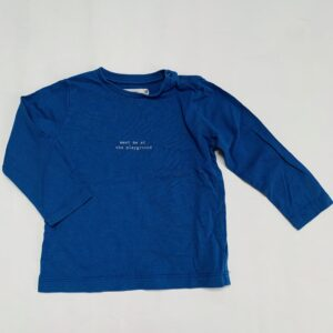 Longsleeve meet me at the playground P'tit Filou 18m