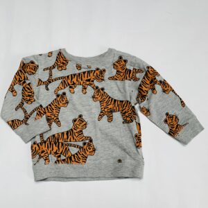Sweater tiger grijs Next 1,5-2jr / 92