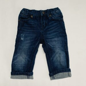 Donkere jeans verstelbaar ripped DKNY 9m