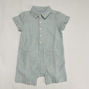 Onesie shortsleeve linnen look Marks & Spencer 6-9m