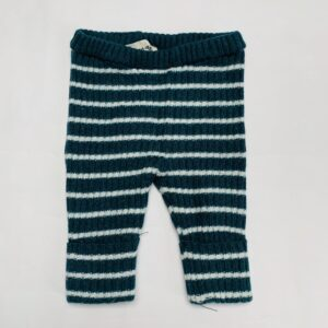 Gebreid broekje stripes Bobo Choses 3-6m