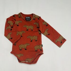 Romper animal Carlijnq 6-12m / 74/80