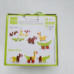 Zoo magnetic animals Scratch