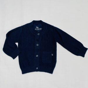 Gilet tricot donkerblauw Z8 62