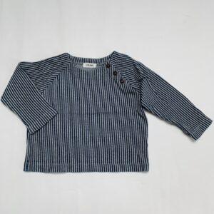 Trui stripes donkerblauw P'tit Filou 18m