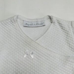 Tweedelig setje wit stitch Théophile & Patachou 3m