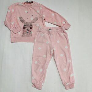 Fleece pyjama pink Eskimo 3jr
