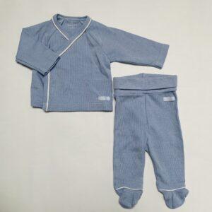 Tweedelige pyjama streepjes Laranjinha 1m