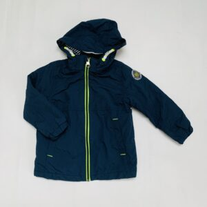 Gevoerde regenjas donkerblauw H&M 2-3jr / 98