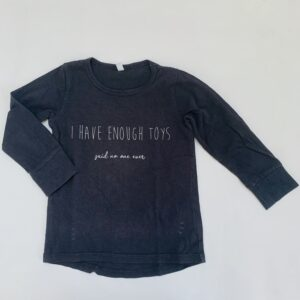 Longsleeve I have enough toys House of Ninoh 92/98