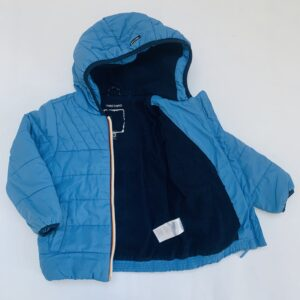 Gevoerde donsjas blauw Tumble 'n Dry 92