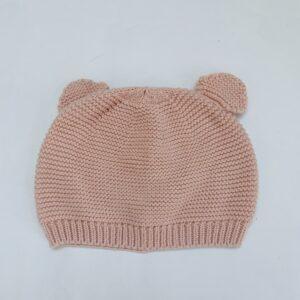 Muts berenoortjes pink Zara 3-6m