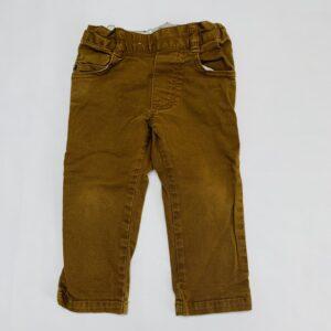 Bruine broek met aanpasbare rekker Timberland 2jr / 86