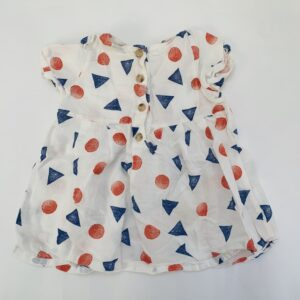 Kleedje dots and triangles Bobo Choses 6-12m / 74