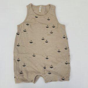Korte onesie Sailboat Rylee + Cru 6-12m