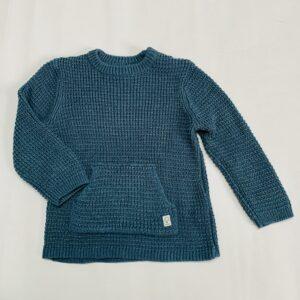 Grofgebreide trui blauw Zara 3-4jr / 104