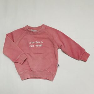Sweater pink be you not them Cos I said so 68/74