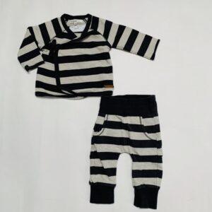 Tweedelige pyjama stripes Noppies 50