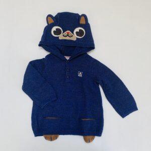 Hoodie tricot dog Du pareil au même 24m / 86