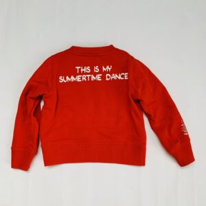Sweater rood Snoopy Essentiel 4jr