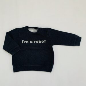 Sweater robot P'tit Filou 12m