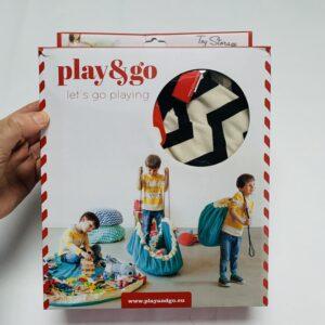 Opberg- en speelmat zigzag Play and Go