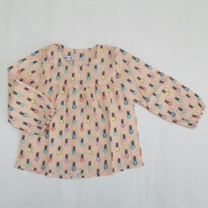 Blouse pineapple P'tit Filou 12m