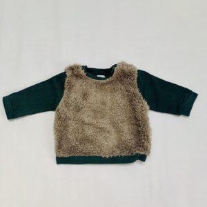 Sweater teddy green Feliz by Filou 3m