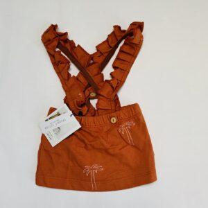 Salopetrokje brown Little Indians 0-3m