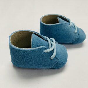 Babyschoentjes blauw Cambrass 6-9m / 17