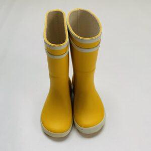 Regenlaarzen geel Aigle maat 20