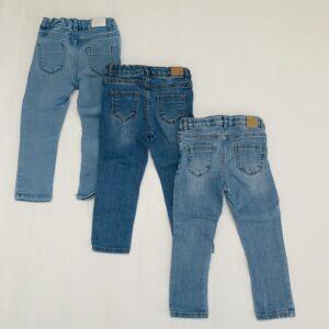 3x aanpasbare jeansbroek Zara 2-3jr