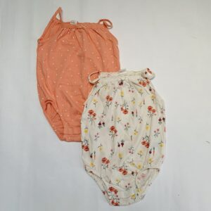 2x romper sleeveless H&M 1,5-2jr / 92