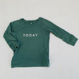 Sweatshirt today Organic Zoo 1-2jr