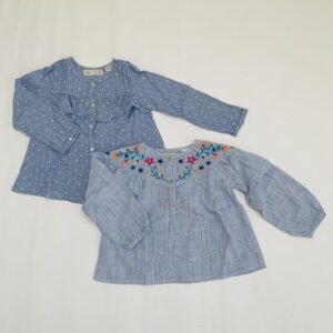 2x blouse Zara 3-4jr / 104